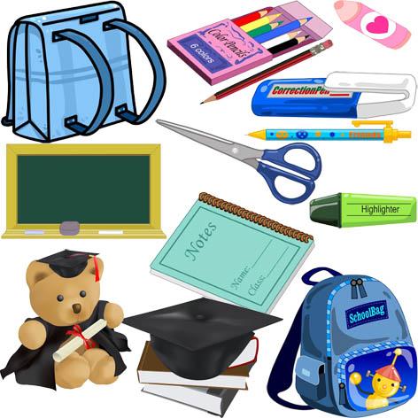 Картинки на тему школьные принадлежности для детского сада